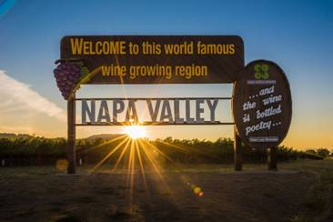 Image result for welcome to napa valley sign
