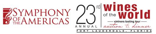 23 rd Wines of the World Auction & Dinner