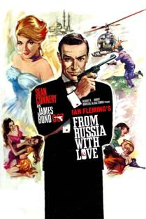 Image result for Bond in From Russia with Love (1963)
