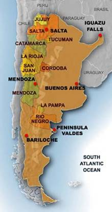 Image result for Argentina Wine regions