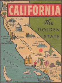 Image result for Vintage California