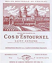 Image result for Chateau Cos D'Estournel
