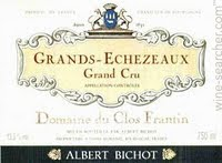 Image result for 1983 Albert Bichot Domaine du Clos Frantin Grands-Echezeaux Grand Cru