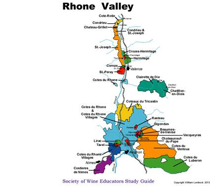 Image result for rhone valley