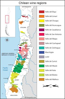 Image result for chilean wine regions