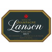 Image result for Lanson Black Label Brut Champagne NV