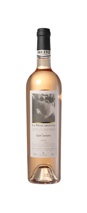 Image result for 2015 Chateau La Mascaronne 'Quat 'saisons' Rose (3 Liter)