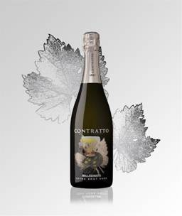Image result for 2011 Contratto Millesimato Extra Brut Spumante Italy