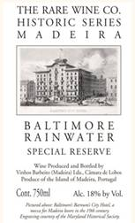 Image result for Rare Wine Co. Historic Series Baltimore Rainwater Madeira