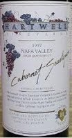 Image result for 1997 Hartwell Cabernet Sauvignon Stag's Leap (Magnum)