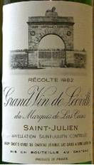 Image result for 1982 Chateau Leoville Las Cases St. Julien