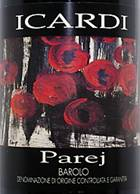 Image result for 1997 Icardi Barolo Parej