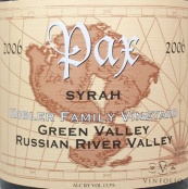 Image result for 2004 Pax Syrah Richards Family Vineyard