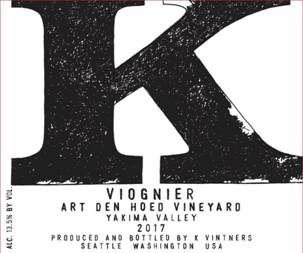Image result for K Vintners Viognier 2017