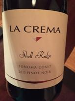 Image result for La Crema Pinot Noir Shell Ridge 2015