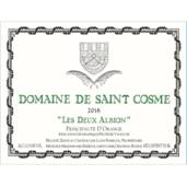 Image result for St Cosme Deux Albions Igp D'orange Blanc 2017