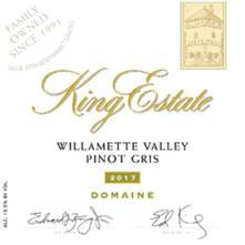 Image result for King Estate Domaine Pinot Gris