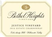 "Image result for Bethel Heights Chardonnay ""Justice Vineyard"" 2015"