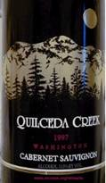 Image result for 1997 Quilceda Creek Cabernet Sauvignon Washington