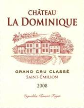 Image result for Chateau La Dominique St. Emilion 2008
