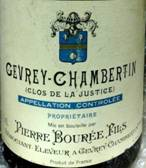 Image result for 1985 Pierre Bouree Gevrey Chambertin 1er Cru
