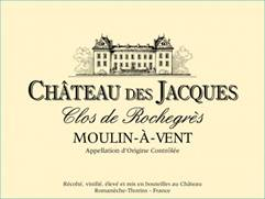 Image result for Chateau des Jacques MAV Clos Rochegre 2015