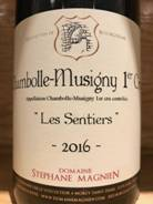 Image result for Domaine Stephan Magnien Chambolle Musigny 1er Cru'Les Sentiers' 2016