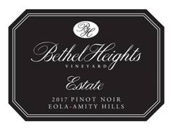 Image result for Bethel Heights Pinot Noir Estate 2017