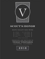 Venge 2018 Scout's Honor Red (Napa Valley) Rating and Review | Wine  Enthusiast