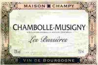 Image result for 2005 Maison Champy Chambolle-Musigny Les Bussieres