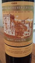 Image result for 1989 Chateau Ducru Beaucaillou St. Julien