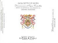 Image result for 2014 E. Pira Dolcetto D'Alba