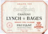 Image result for 1999 Chateau Lynch Bages Pauillac