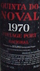 Image result for 1970 Quinta Do Noval Vintage Port