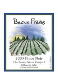 Image result for 2003 Beaux Frères Pinot Noir Beaux Frères Vineyard 750ml