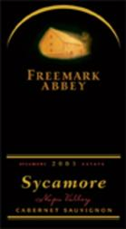 Image result for 2003 Freemark Abbey Cabernet Sauvignon Sycamore Vineyard