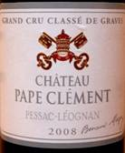 Image result for Chateau Pape Clement Pessac Leognan 2008