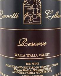 Image result for 2012 Leonetti Reserve Columbia Valley