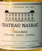 Image result for 1988 Chateau Nairac Barsac Sauternes 375ml