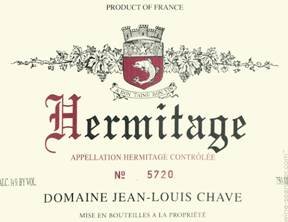 Image result for 1988 Jean Louis Chave Hermitage Rouge