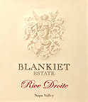 Image result for 2007 Blankiet 'Rive Droite' Napa Valley Bordeaux Blend