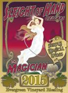 Image result for Sleight of Hand Magician Riesling Evergreen Vineyard  2015