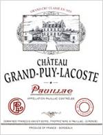 Image result for 1979 Château Grand-Puy-Lacoste Pauillac