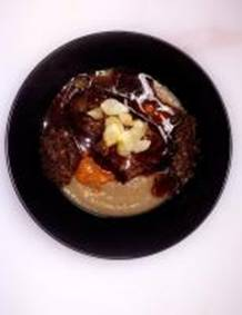 Deconstructed Beef Shortrib Bourguignon image