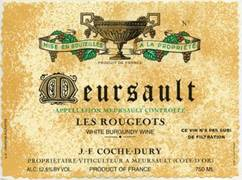 Image result for 2005 Domaine Coche Dury Meursault Les Rougeots