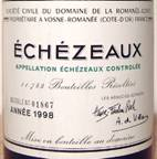 Image result for 1998 Domaine De La Romanee Conti Echezeaux Grand Cru