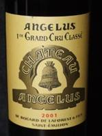 Image result for 2001 Chateau Angelus St Emilion Grand Cru