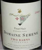 Image result for 2005 Domaine Serene Pinot Noir Two Barns