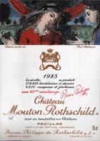 1985 Chateau Mouton Rothschild Pauillac image