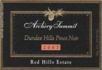 2010 Archery Summit Pinot Noir Red Hills Estate image